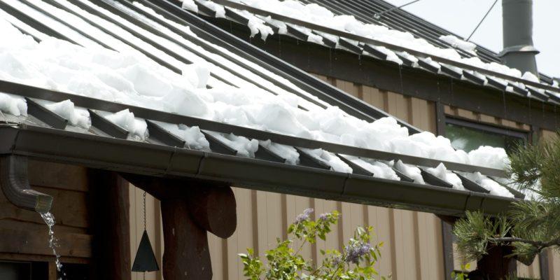 snow retention clamps