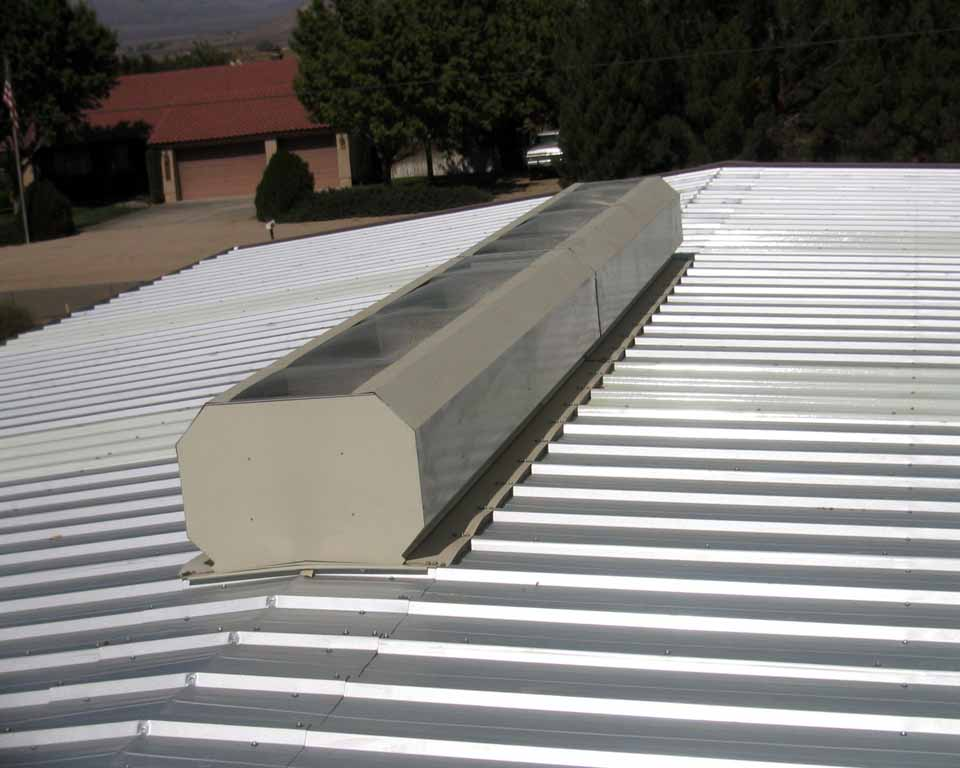 roof mounted gravity vents