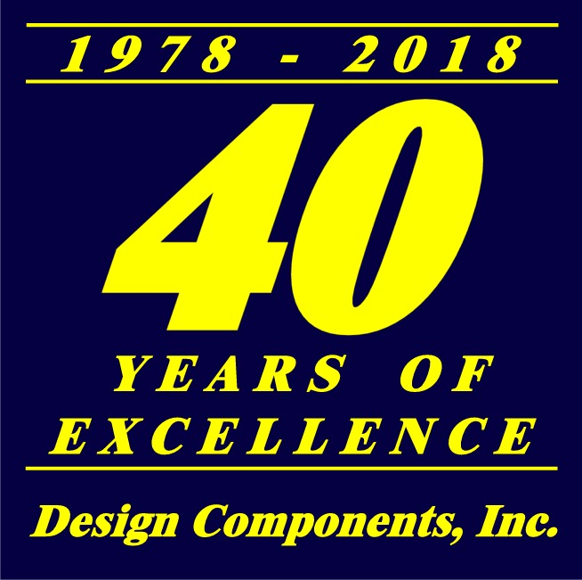 dci 40yr anniversary design components