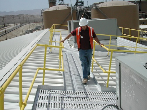 Roof Access Walkway_man