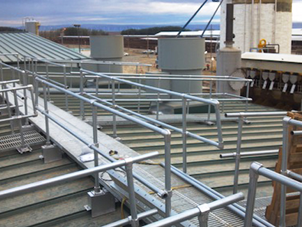 Safe Rooftop Metal Walkway Products Supplier | Design