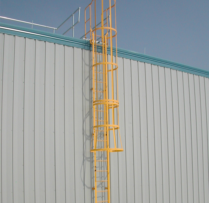 osha fall protection ladders