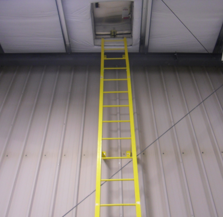 Fixed And Caged Ladders Industrial And Commercial