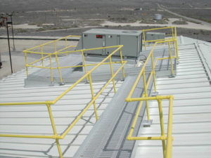 aluminum roof walkway systems