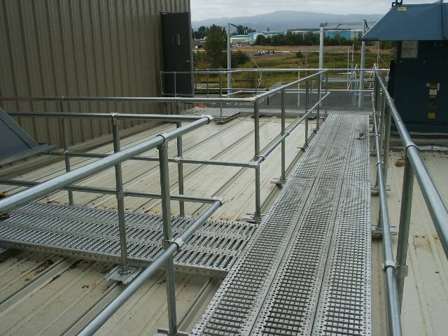 Safe Rooftop Metal Walkway Products Supplier | Design Components Inc